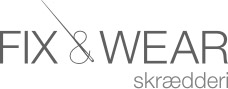 Logo for Fix & Wear skrædderi